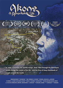 Filmposter Akong - a remarkable life